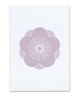 Violet Plum Blossom